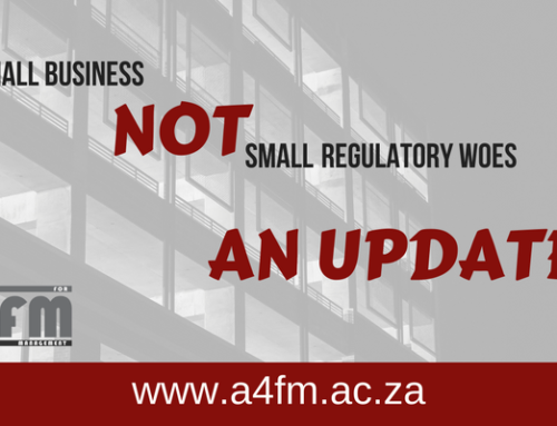Regulatory woes update