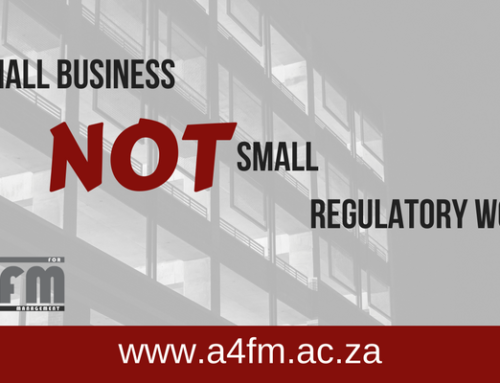Small business but NOT small regulatory woes